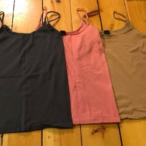 Set of 3 The limited stretchy Cami M